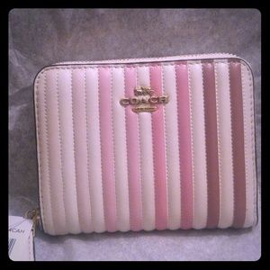 Authentic Coach Ombre Quilted Wallet
